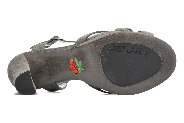 Sandales et nu-pieds Free Lance Eve 7 Sandal Gris vue haut