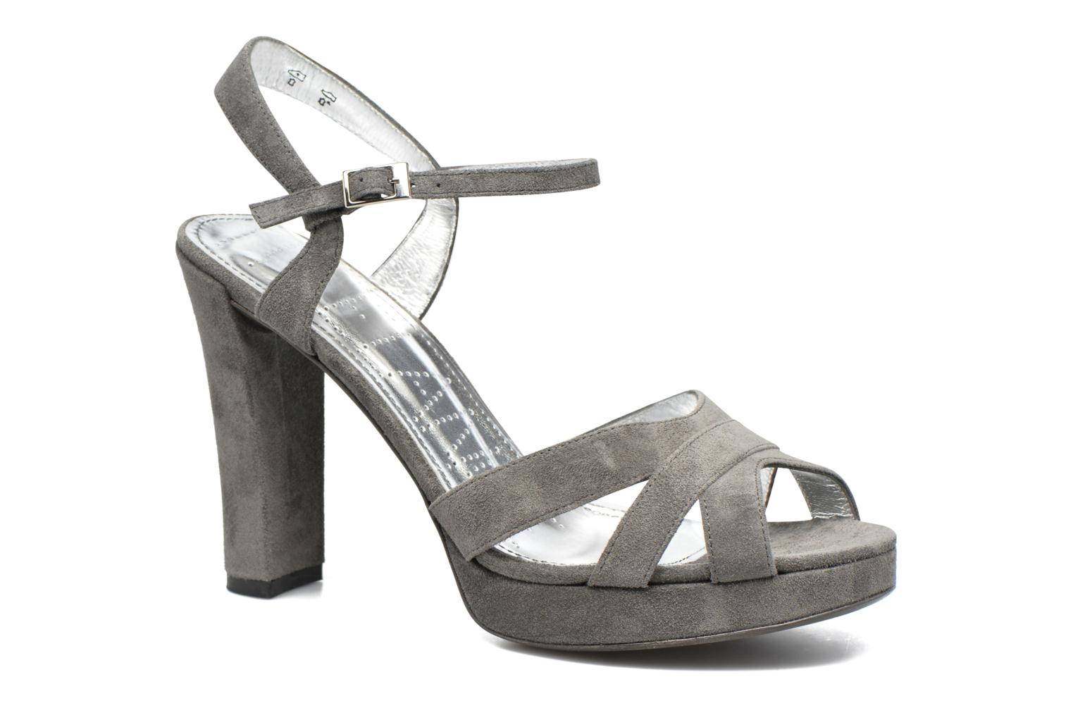 Sandals Free Lance Eve 7 Sandal Grey detailed view/ Pair view