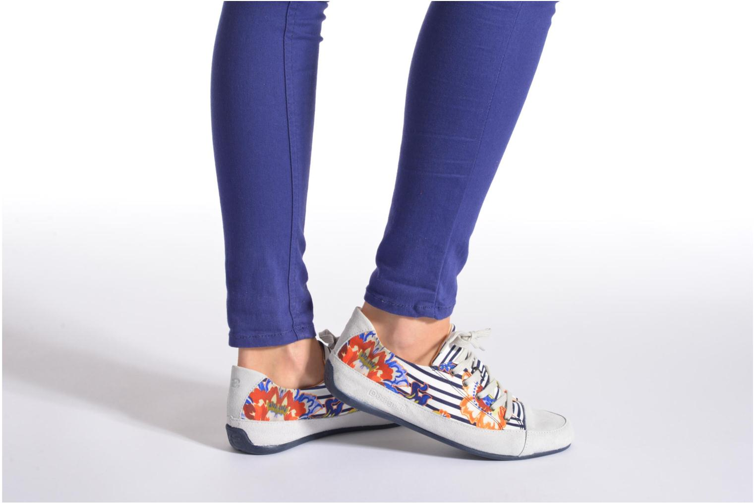 Lace-up shoes Desigual SHOES_HAPPY 4 Multicolor view from underneath / model view