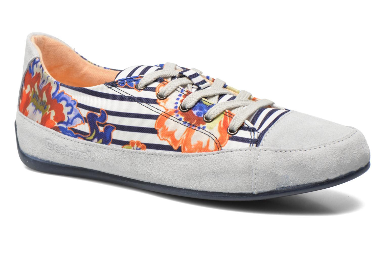 Snøresko Desigual SHOES_HAPPY 4 Multi detaljeret billede af skoene