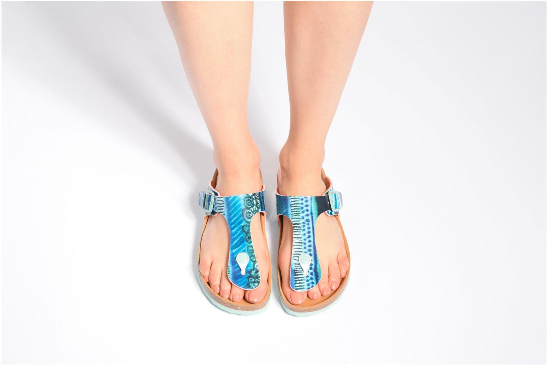 Sandales et nu-pieds Desigual SHOES_BIO 3 Multicolore vue bas / vue portée sac