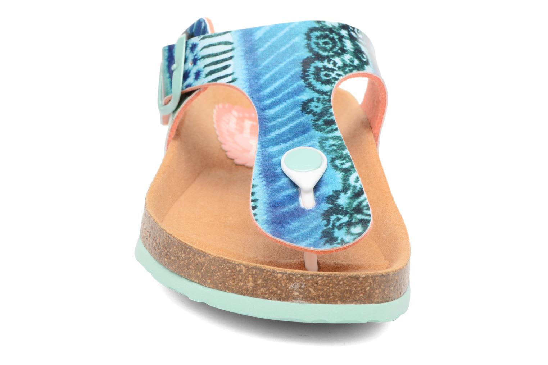 Sandales et nu-pieds Desigual SHOES_BIO 3 Multicolore vue portées chaussures