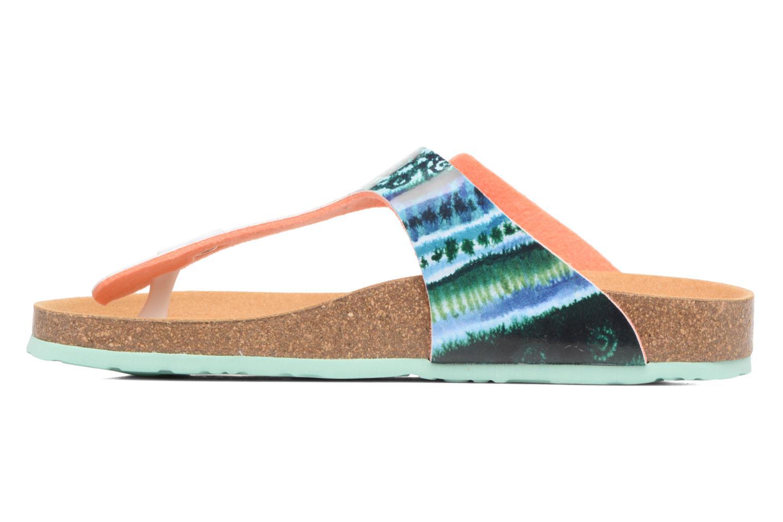 Sandales et nu-pieds Desigual SHOES_BIO 3 Multicolore vue face