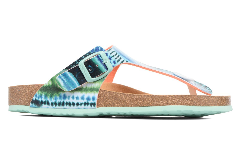 Sandales et nu-pieds Desigual SHOES_BIO 3 Multicolore vue derrière