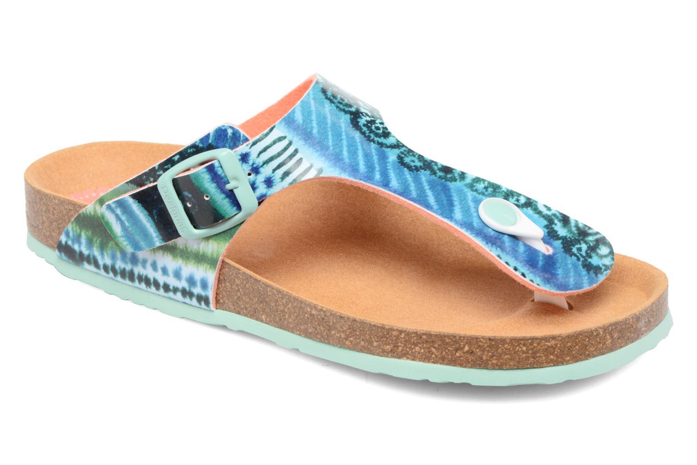 Sandales et nu-pieds Desigual SHOES_BIO 3 Multicolore vue détail/paire