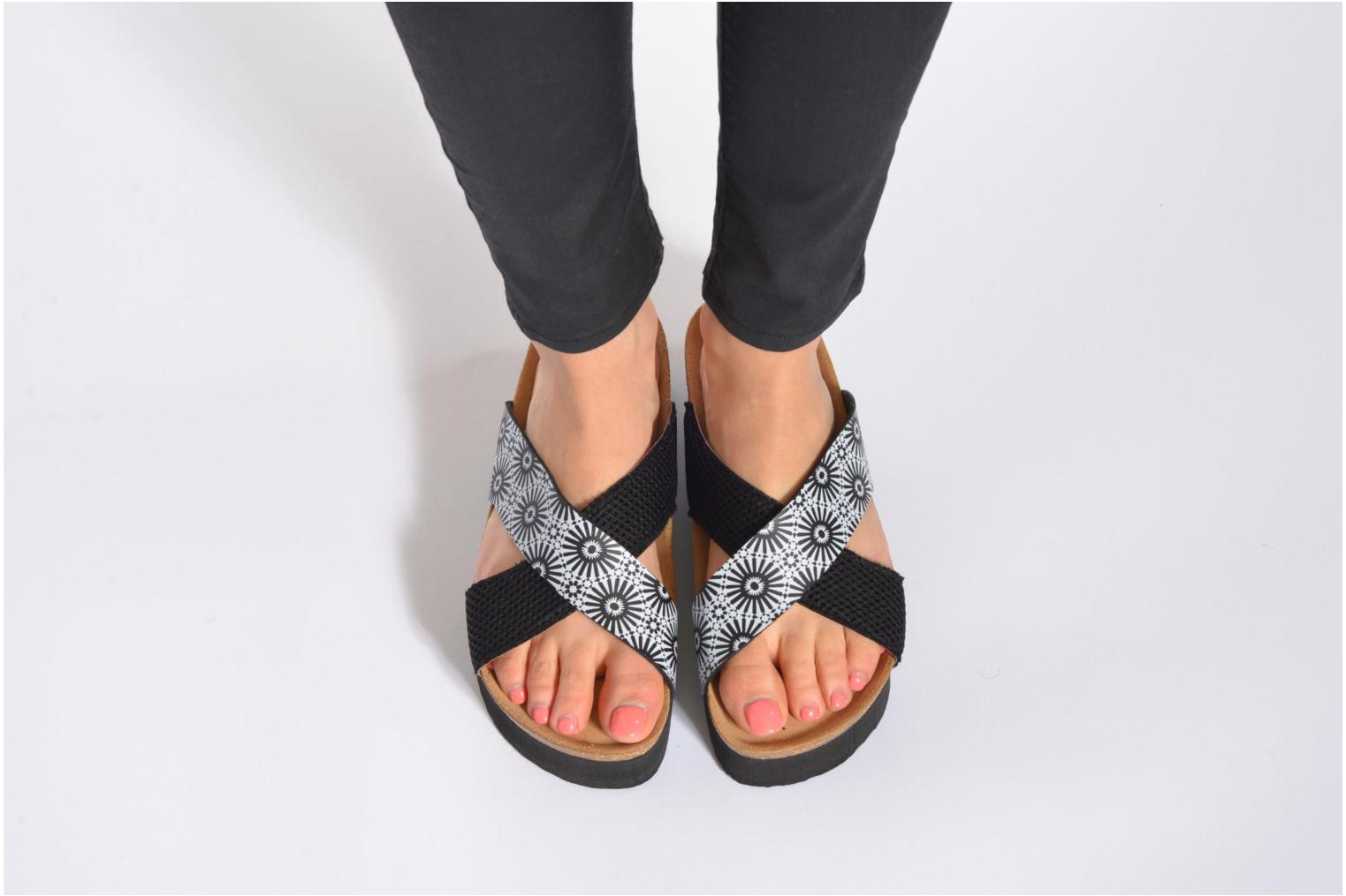 Mules & clogs Desigual SHOES_BIO 10 MEGARA Black view from underneath / model view