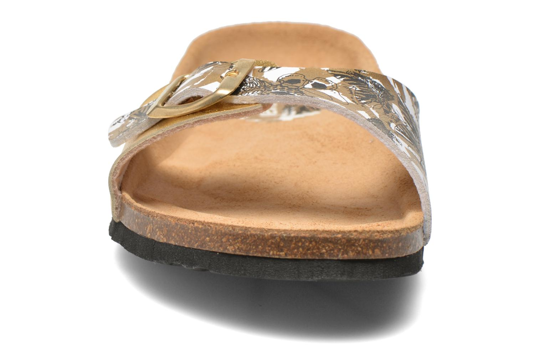 Clogs & Pantoletten Desigual SHOES_BIO 3 C4 gold/bronze schuhe getragen