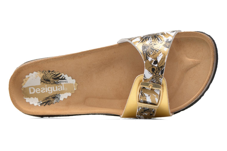 Clogs & Pantoletten Desigual SHOES_BIO 3 C4 gold/bronze ansicht von links