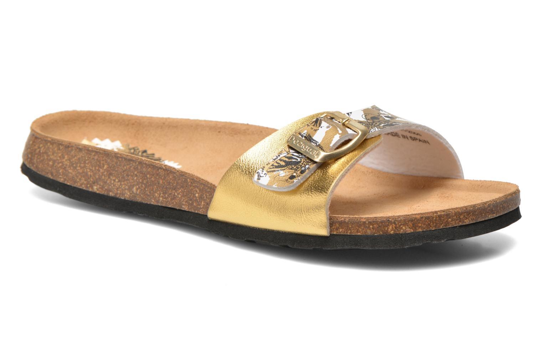 Clogs & Pantoletten Desigual SHOES_BIO 3 C4 gold/bronze detaillierte ansicht/modell