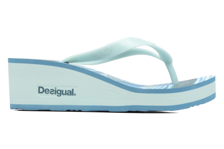 Zehensandalen Desigual SHOES_LOLA blau ansicht von hinten