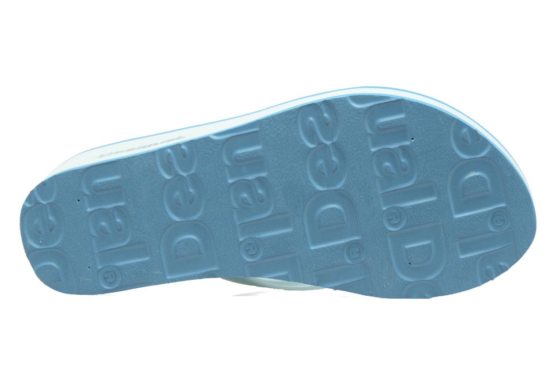 Zehensandalen Desigual SHOES_LOLA blau ansicht von oben
