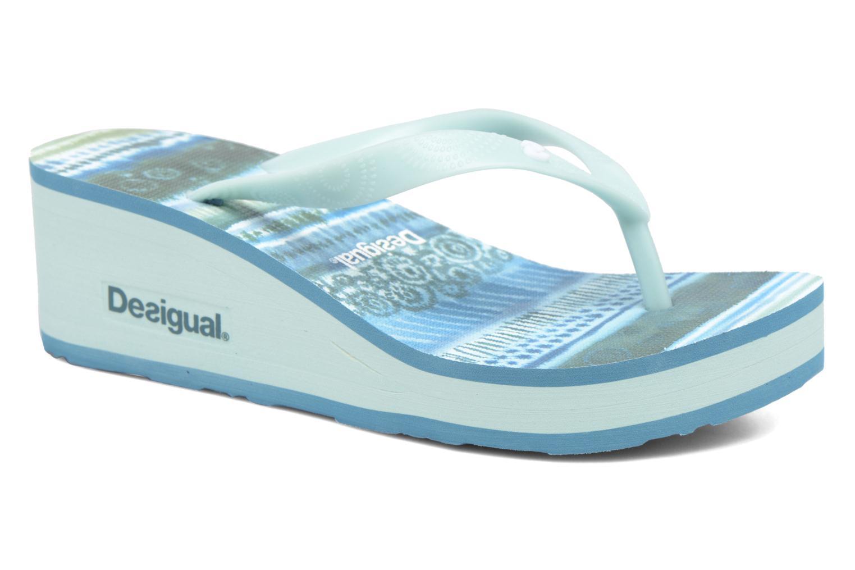 Zehensandalen Desigual SHOES_LOLA blau detaillierte ansicht/modell