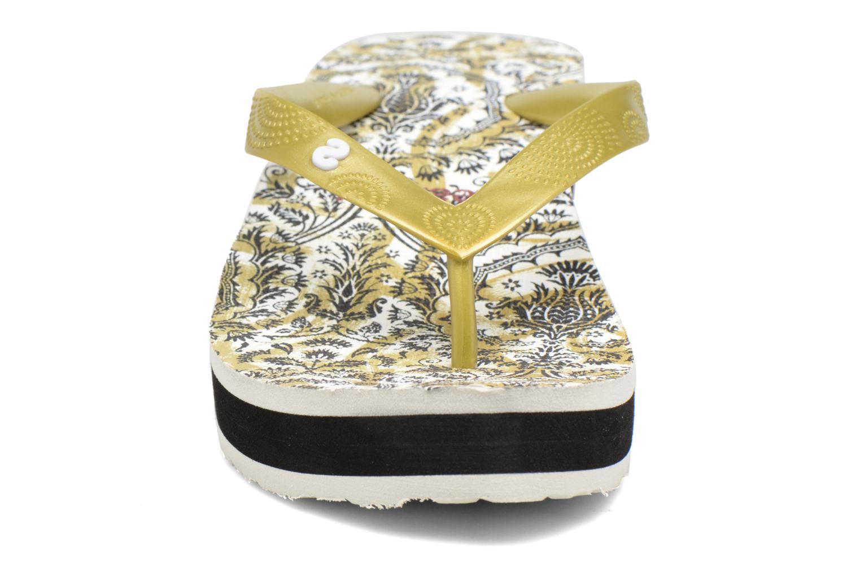 Tongs Desigual SHOES_LOLA Multicolore vue portées chaussures