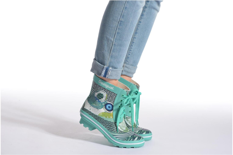 Boots en enkellaarsjes Desigual SHOES_CAIQU Groen onder