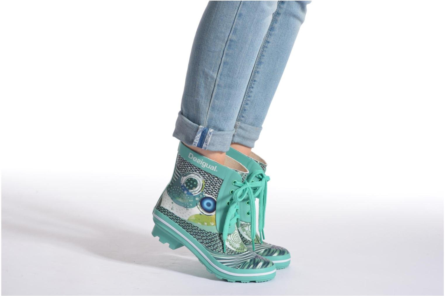 Ankle boots Desigual SHOES_CAIQU Green view from underneath / model view