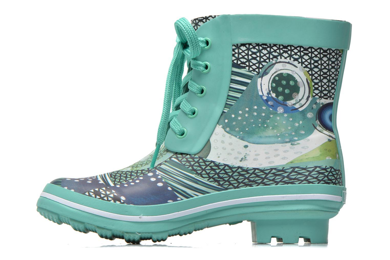 Boots en enkellaarsjes Desigual SHOES_CAIQU Groen voorkant