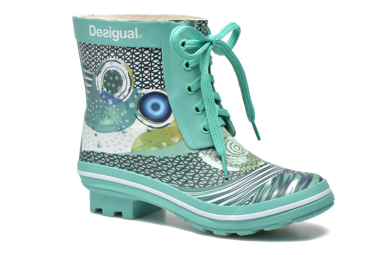 Ankelstøvler Desigual SHOES_CAIQU Grøn detaljeret billede af skoene