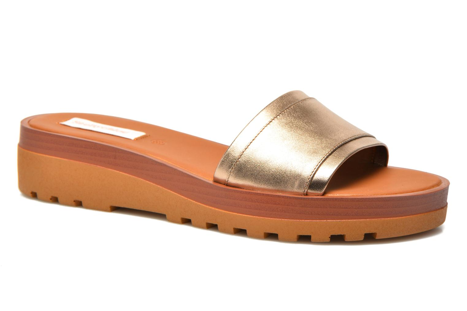 Mules & clogs See by Chloé OkaÏ Bronze and Gold detailed view/ Pair view