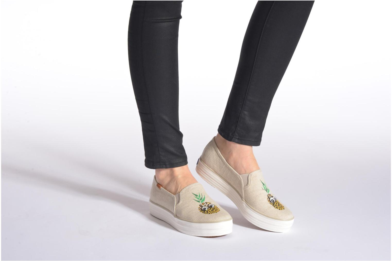 PineapplePrint Keds Triple Natural Triple decker Keds X0U0w7nqxZ