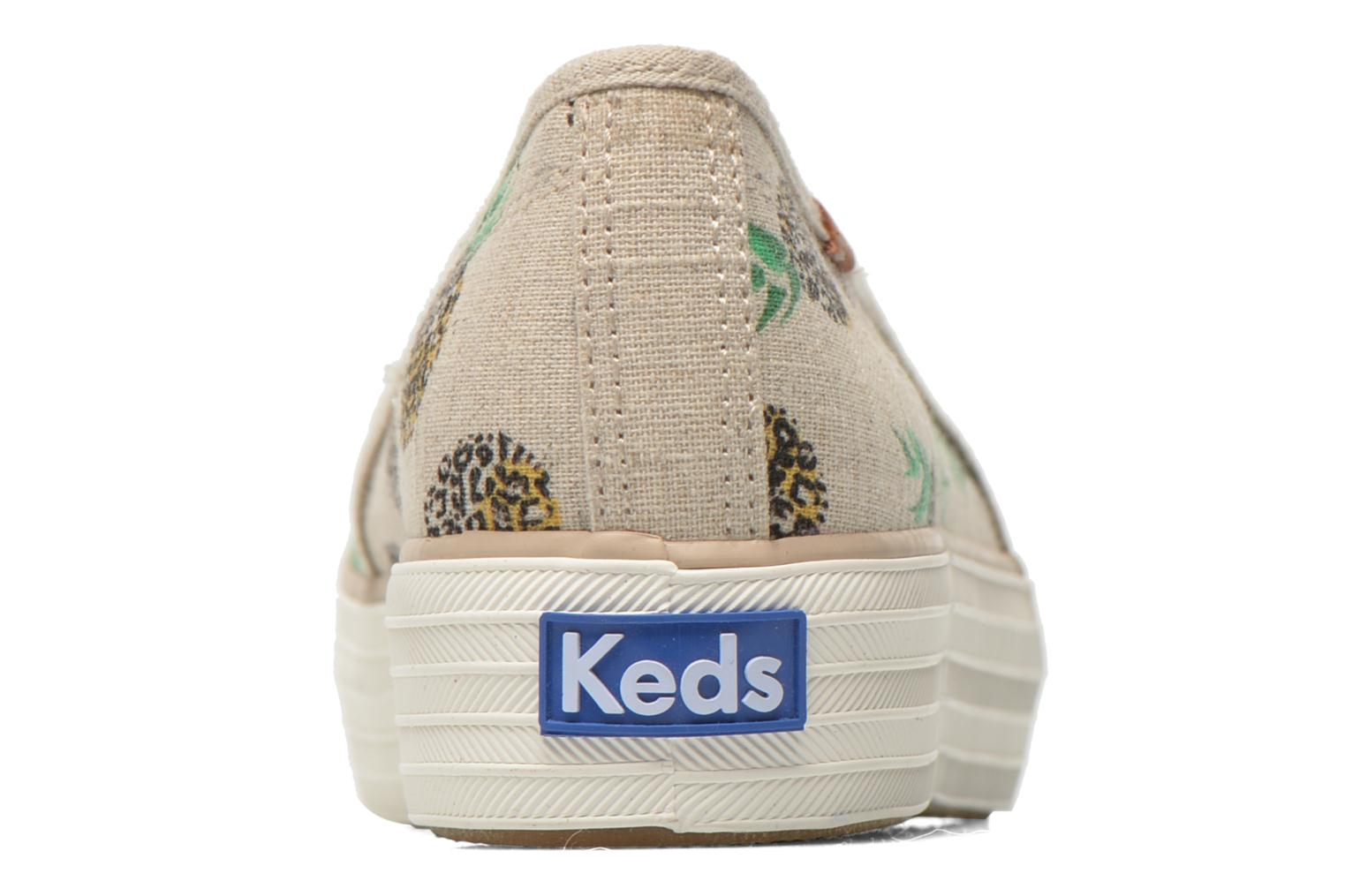 Trainers Keds Triple decker Multicolor view from the right