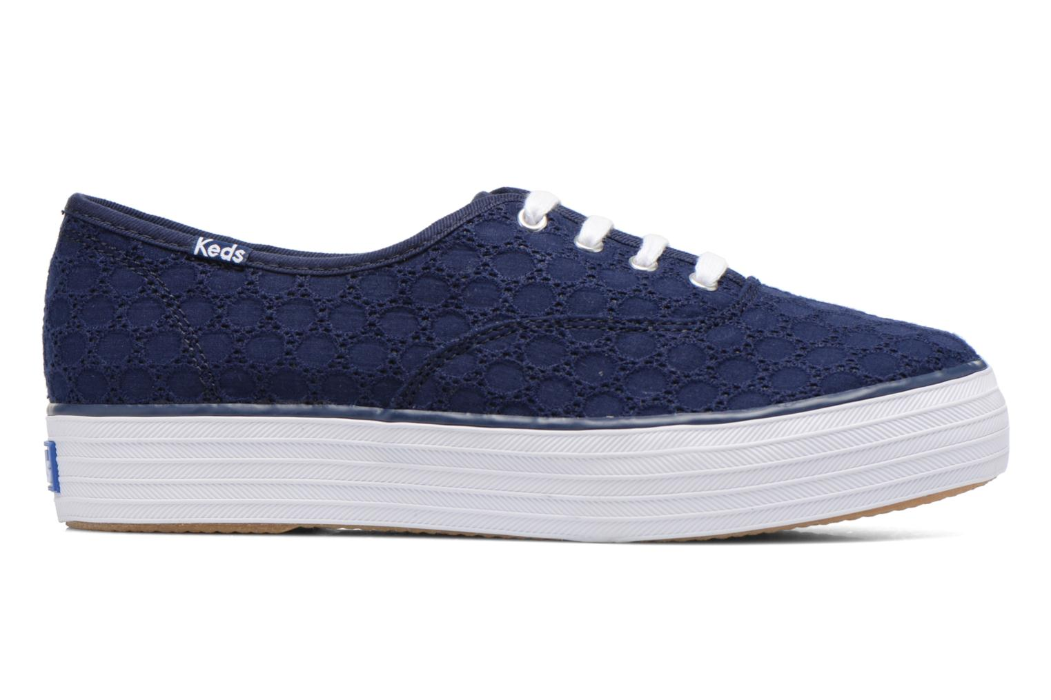 Sneakers Keds Triple eyelet Azzurro immagine posteriore