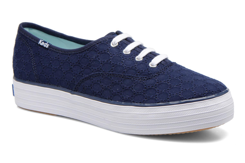 Sneakers Keds Triple eyelet Blå detaljeret billede af skoene