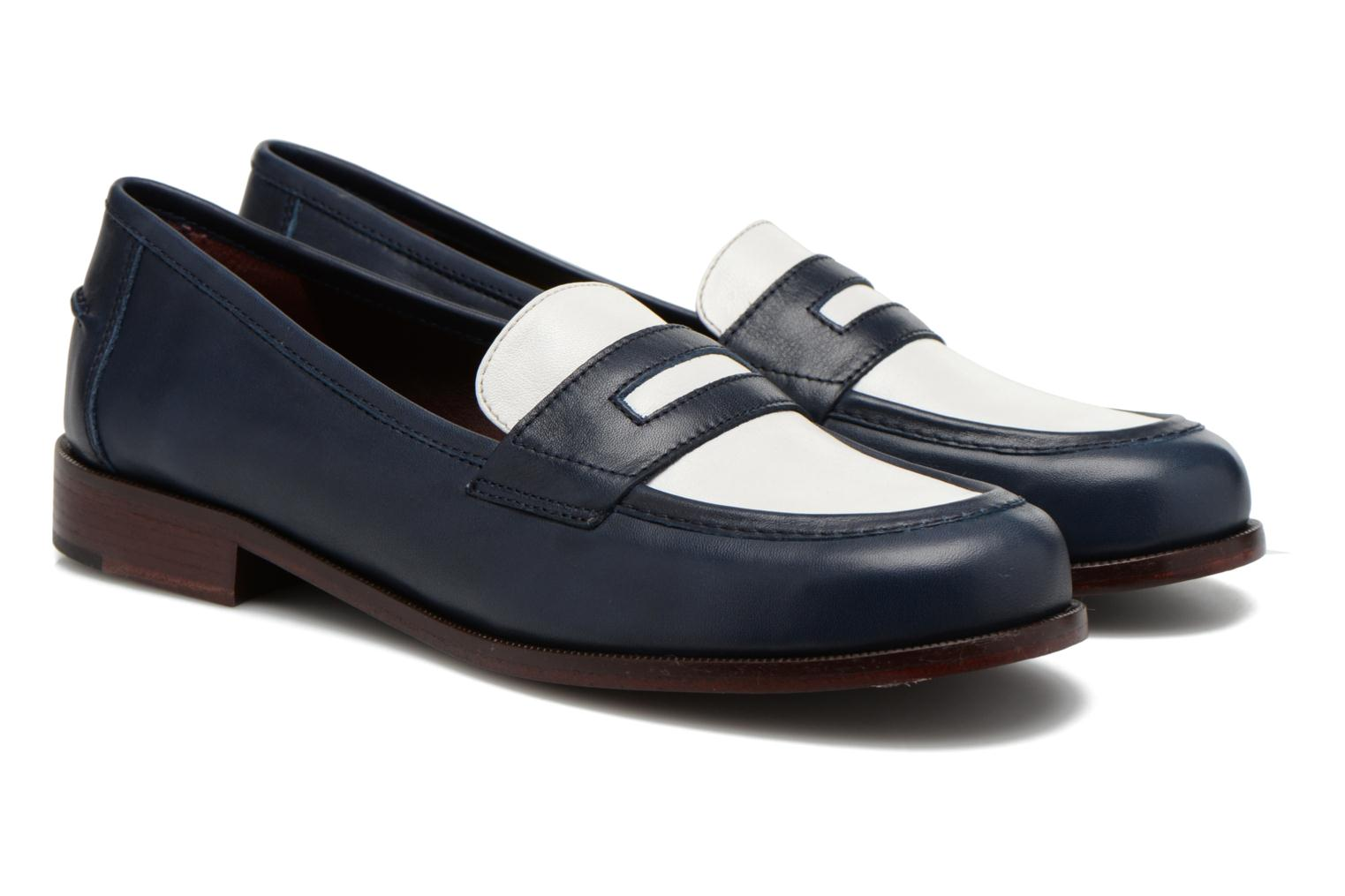 Loafers Avril Gau Farc Blue 3/4 view