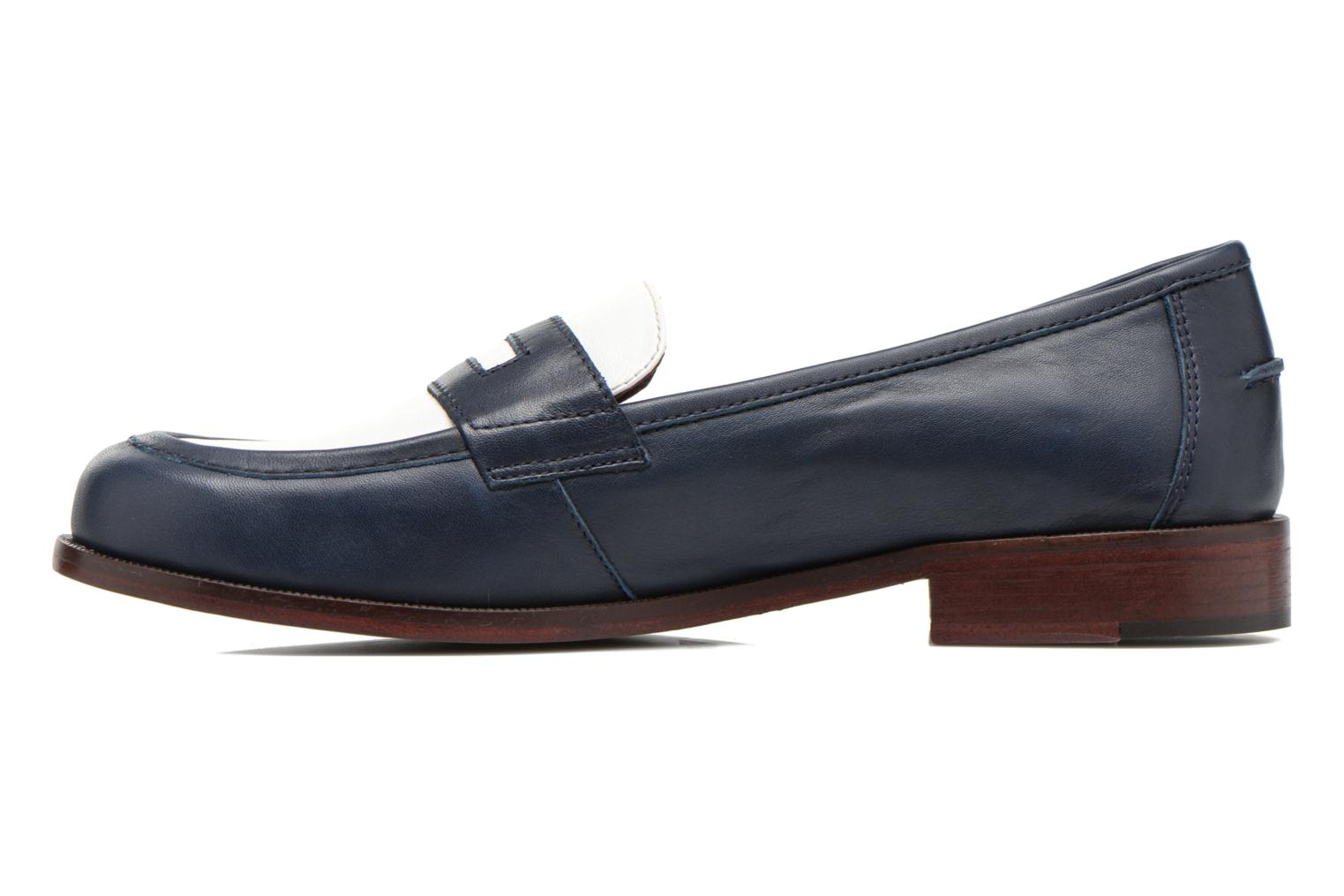 Loafers Avril Gau Farc Blue front view