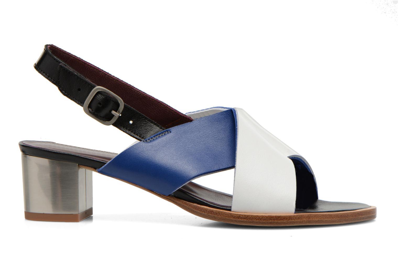 Sandales et nu-pieds Avril Gau Uba Multicolore vue derrière