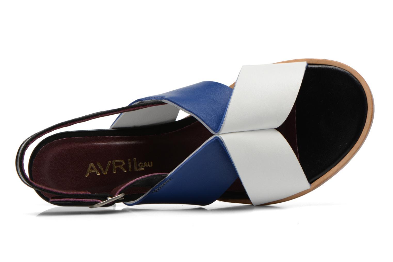 Sandales et nu-pieds Avril Gau Uba Multicolore vue gauche