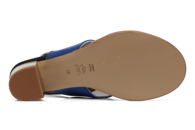 Sandales et nu-pieds Avril Gau Uba Multicolore vue haut