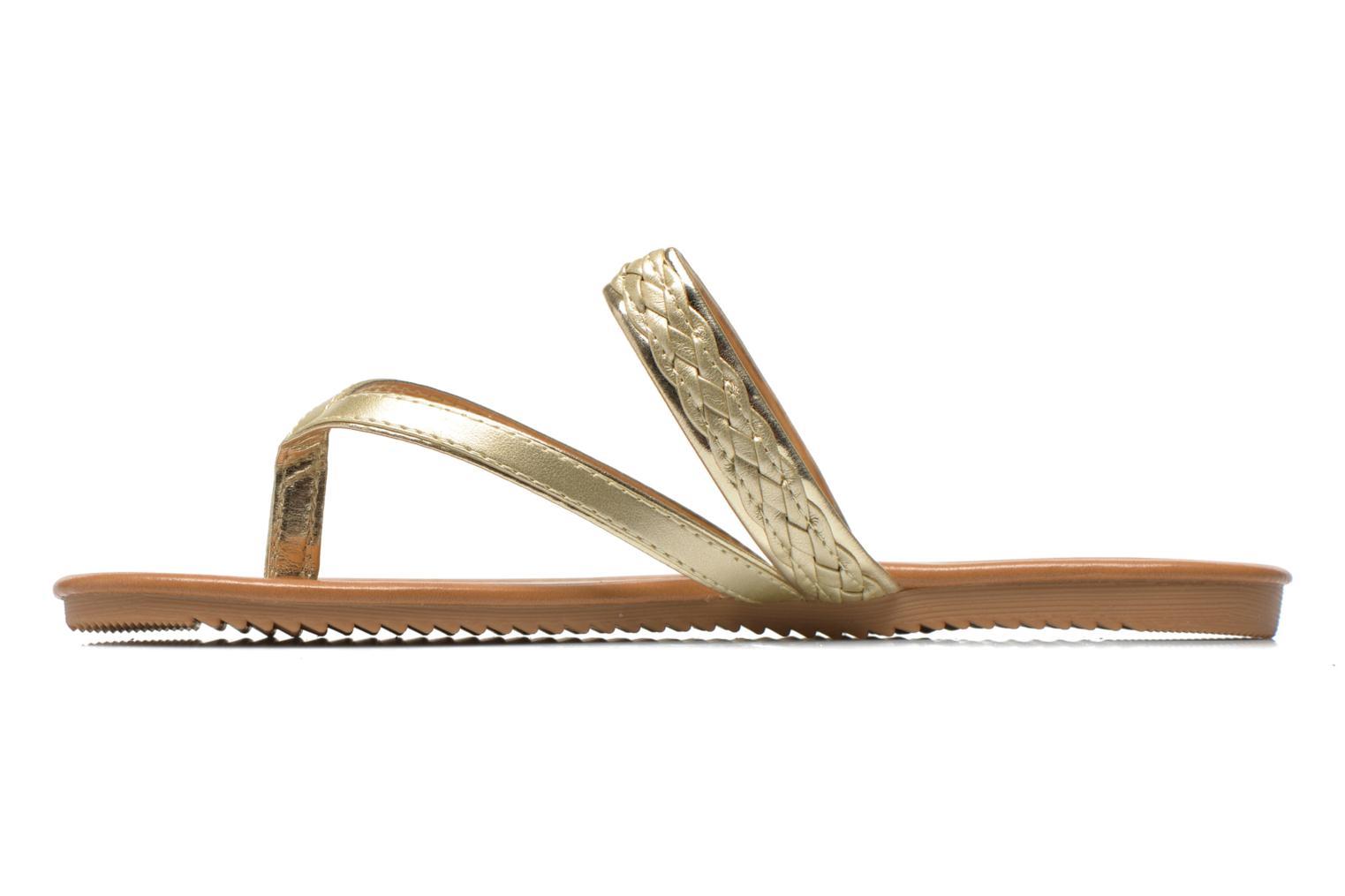 Tongs I Love Shoes Therty Or et bronze vue face