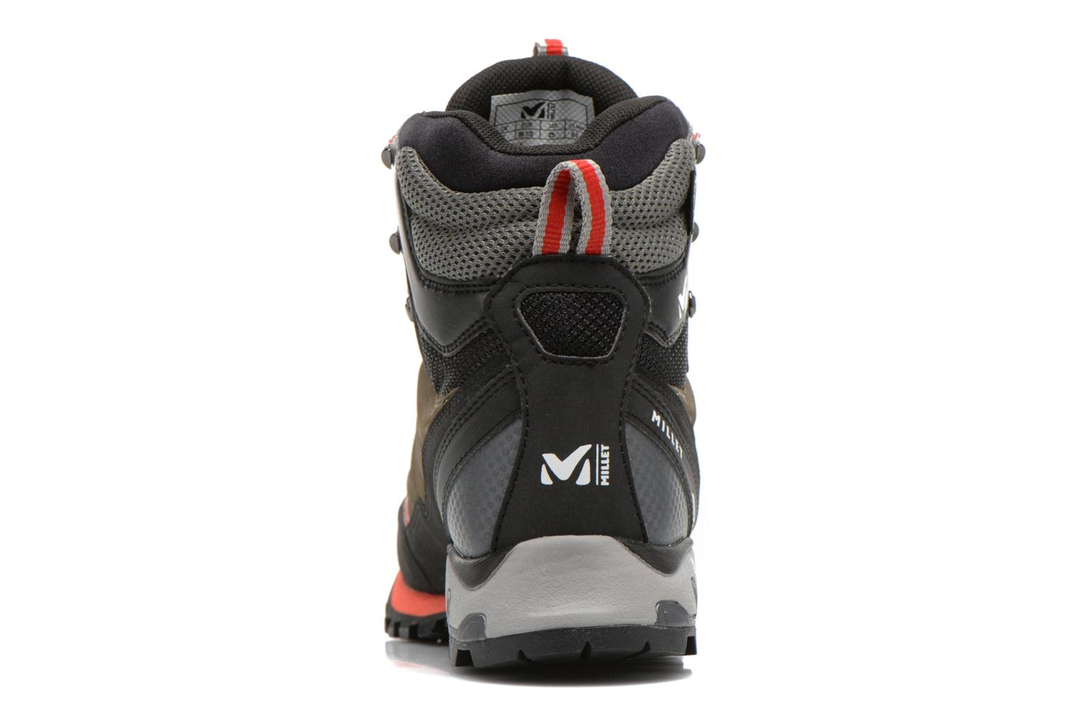 Sport shoes Millet High Route GTX Grey view from the right