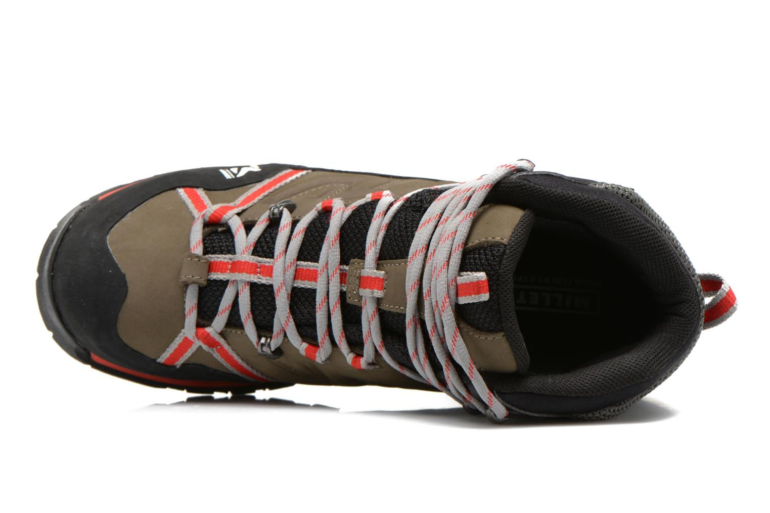 Sport shoes Millet High Route GTX Grey view from the left