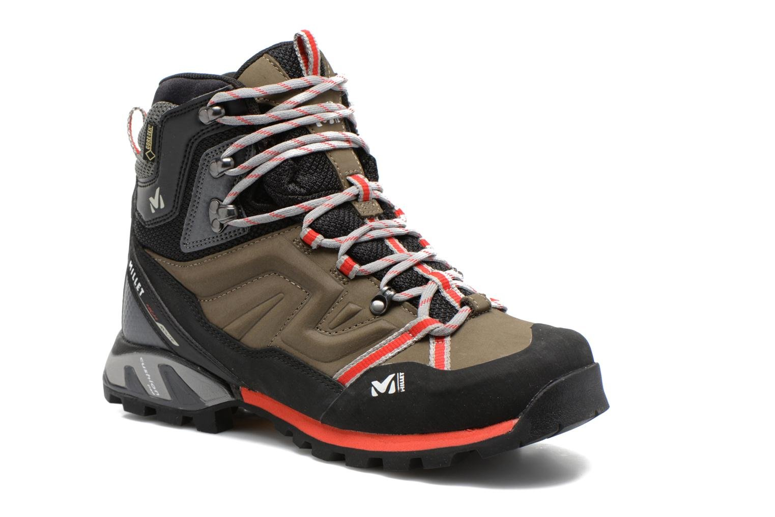 Sport shoes Millet High Route GTX Grey detailed view/ Pair view