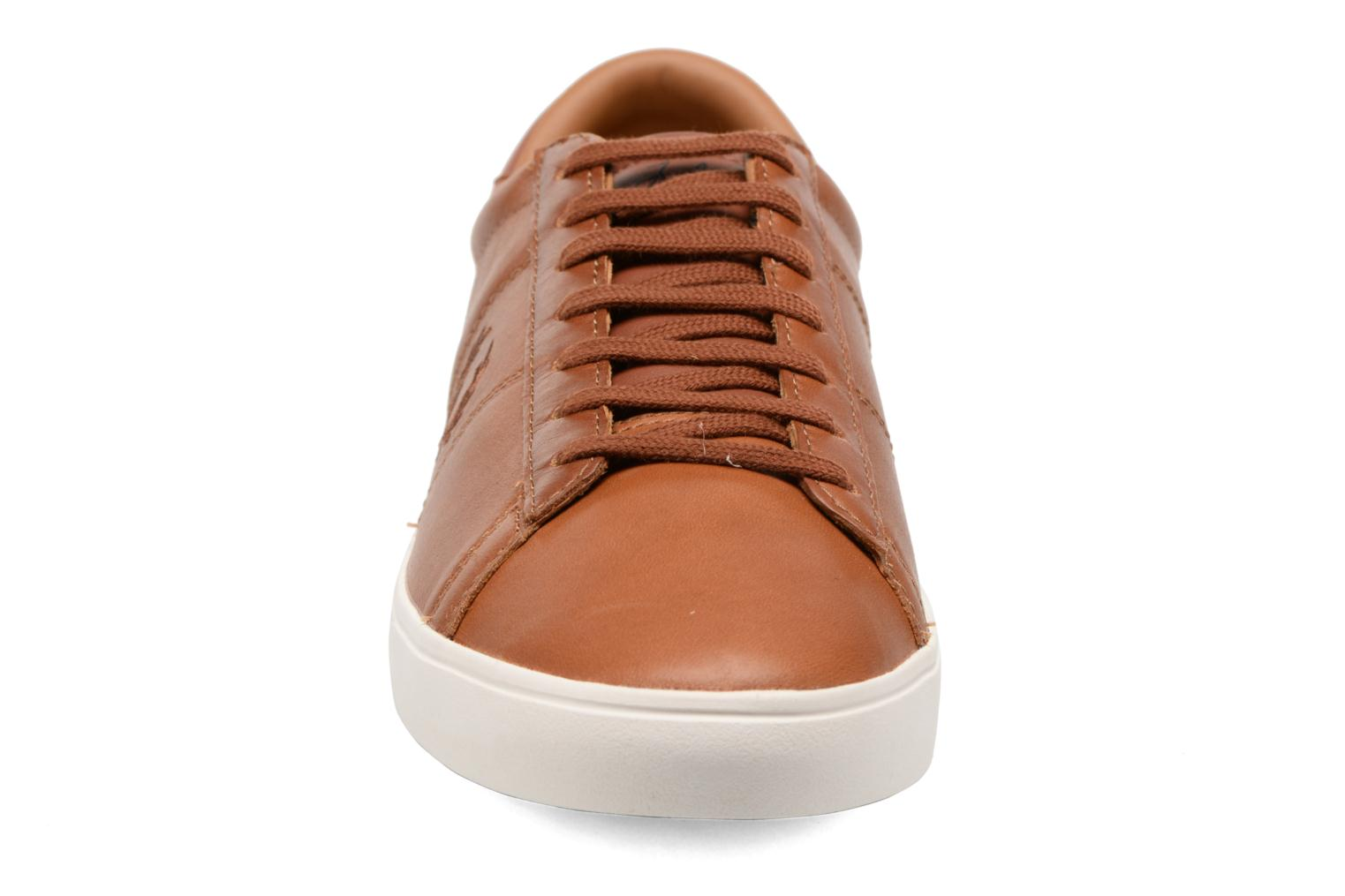 Spencer Waxed leather Tan