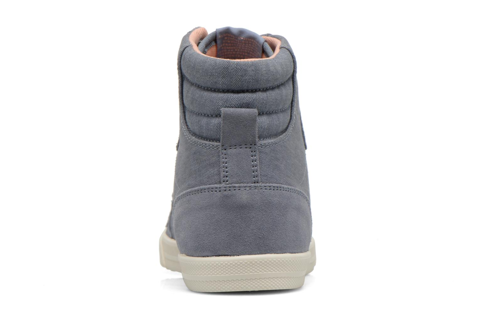 Trainers Hummel Ten Star Smooth Hi Grey view from the right