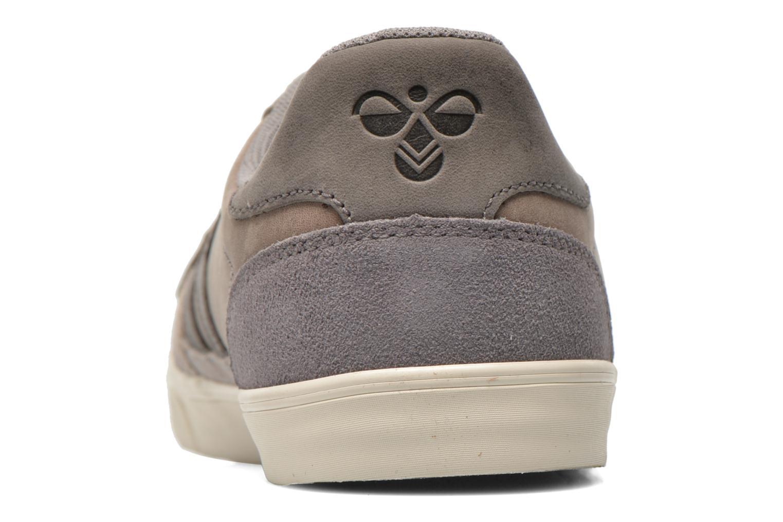 Sneaker Hummel Ten Star Oiled Lo grau ansicht von rechts