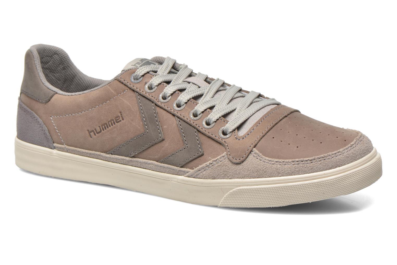 Sneaker Hummel Ten Star Oiled Lo grau detaillierte ansicht/modell