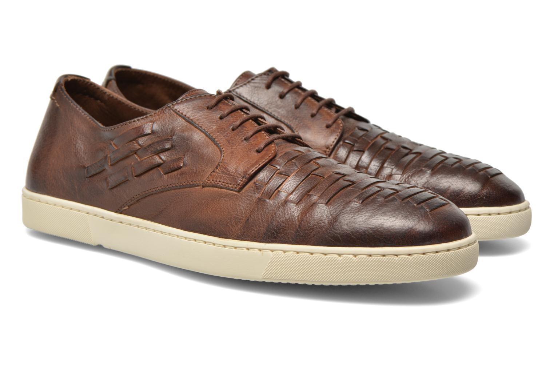 Zapatos con cordones n.d.c Bart Marrón vista 3/4
