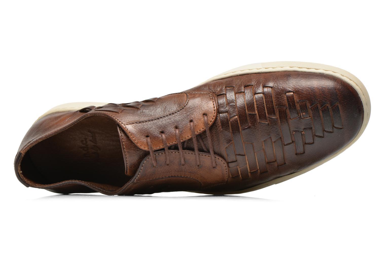 Zapatos con cordones n.d.c Bart Marrón vista lateral izquierda