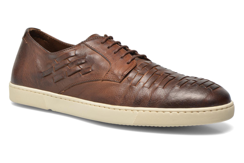 Zapatos con cordones n.d.c Bart Marrón vista de detalle / par