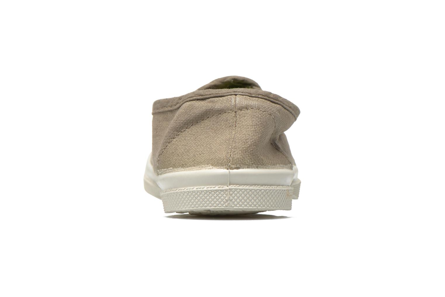 Trainers Bensimon Tennis Tommy E Grey view from the right