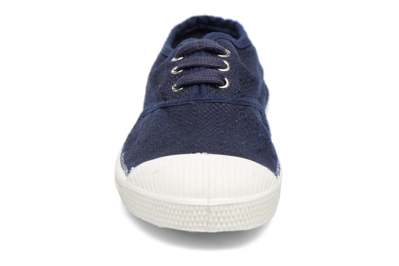 Sneakers Bensimon Tennis Lin E Azzurro modello indossato