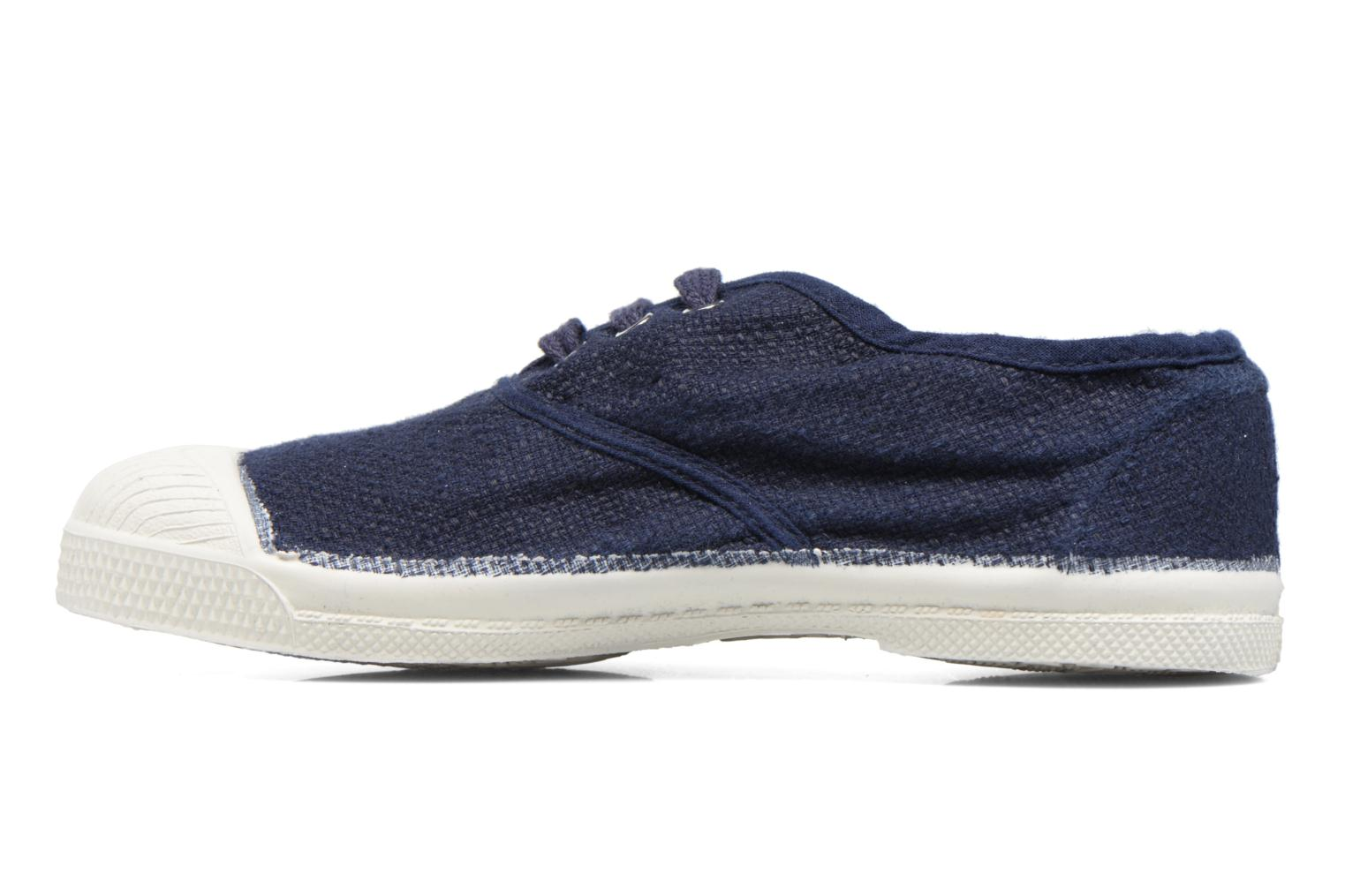 Trainers Bensimon Tennis Lin E Blue front view