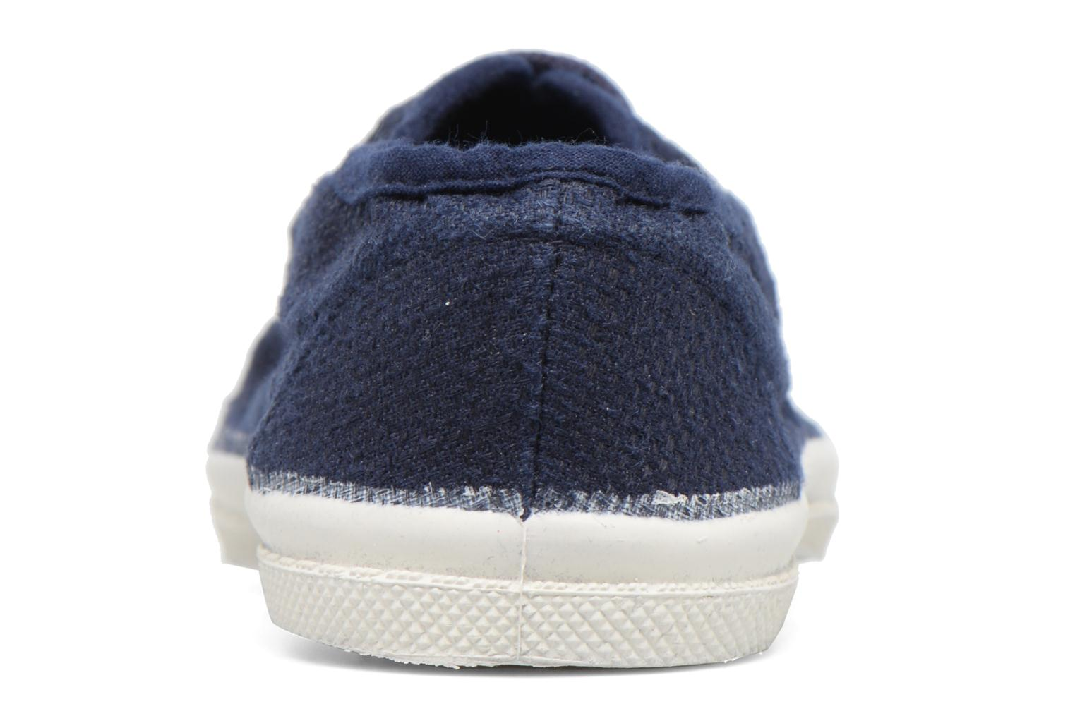 Trainers Bensimon Tennis Lin E Blue view from the right