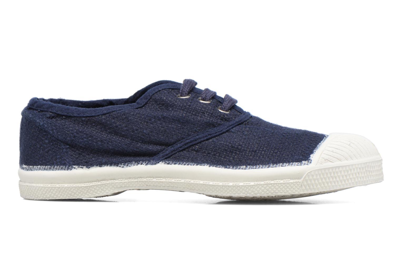 Sneakers Bensimon Tennis Lin E Blå bild från baksidan