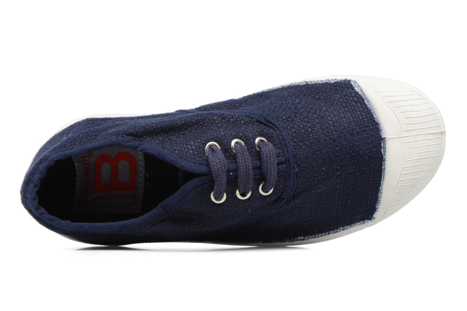 Trainers Bensimon Tennis Lin E Blue view from the left
