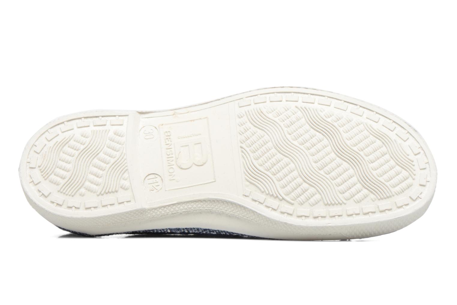 Trainers Bensimon Tennis Lin E Blue view from above