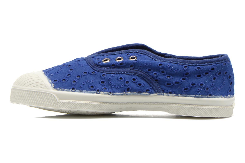 Sneaker Bensimon Tennis Elly Broderie Anglaise E blau ansicht von vorne